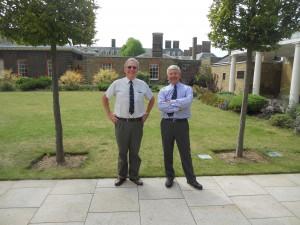 W.Bros Tom Robson and Bill Beedie. At RHC