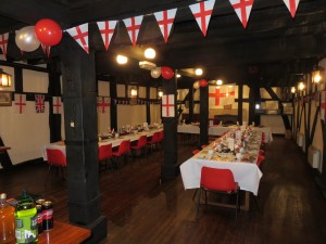 St George's Night at Innsworth Lodge