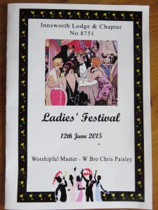 INNSWORTH LODGE (8751) LADIES FESTIVAL – 12 JUNE 2015