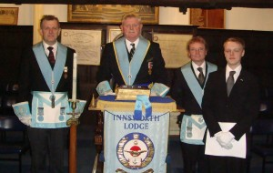 INNSWORTH LODGE INITIATION 27th FEBRUARY – A FAMILY AFFAIR