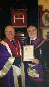 50 years as a Royal Arch Mason