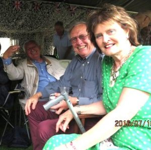 John KB, Bro Charity Steward and Hilary