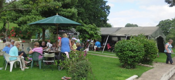 VISIT TO MAY HILL LODGE GARDEN PARTY – 10 JULY