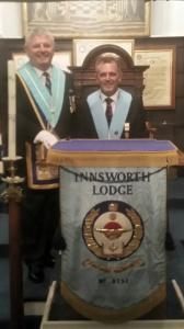 Son follows Dad as the New Worshipful Master
