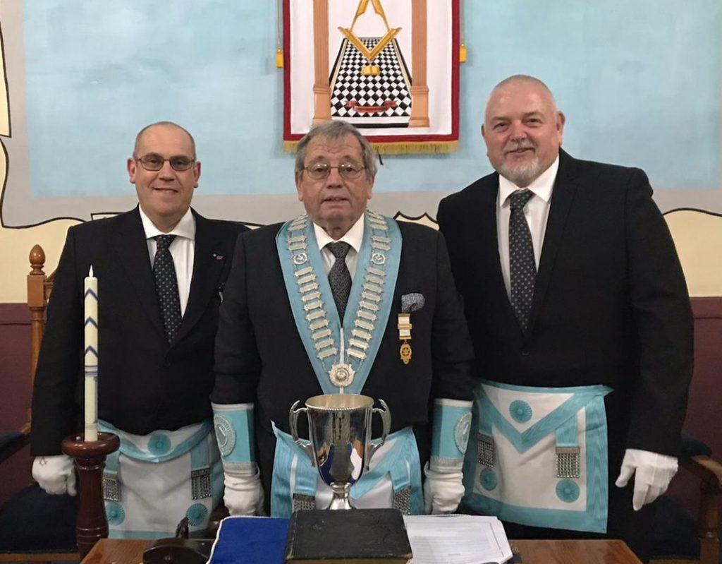 Masonry International – Gloucester Masons visit De Rohan Lodge in Valletta, Malta